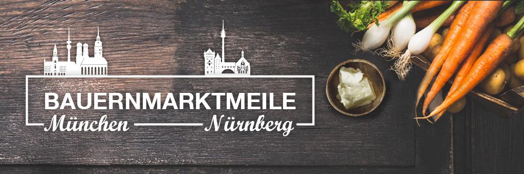 Bauernmarktmeile in München und Nürnberg